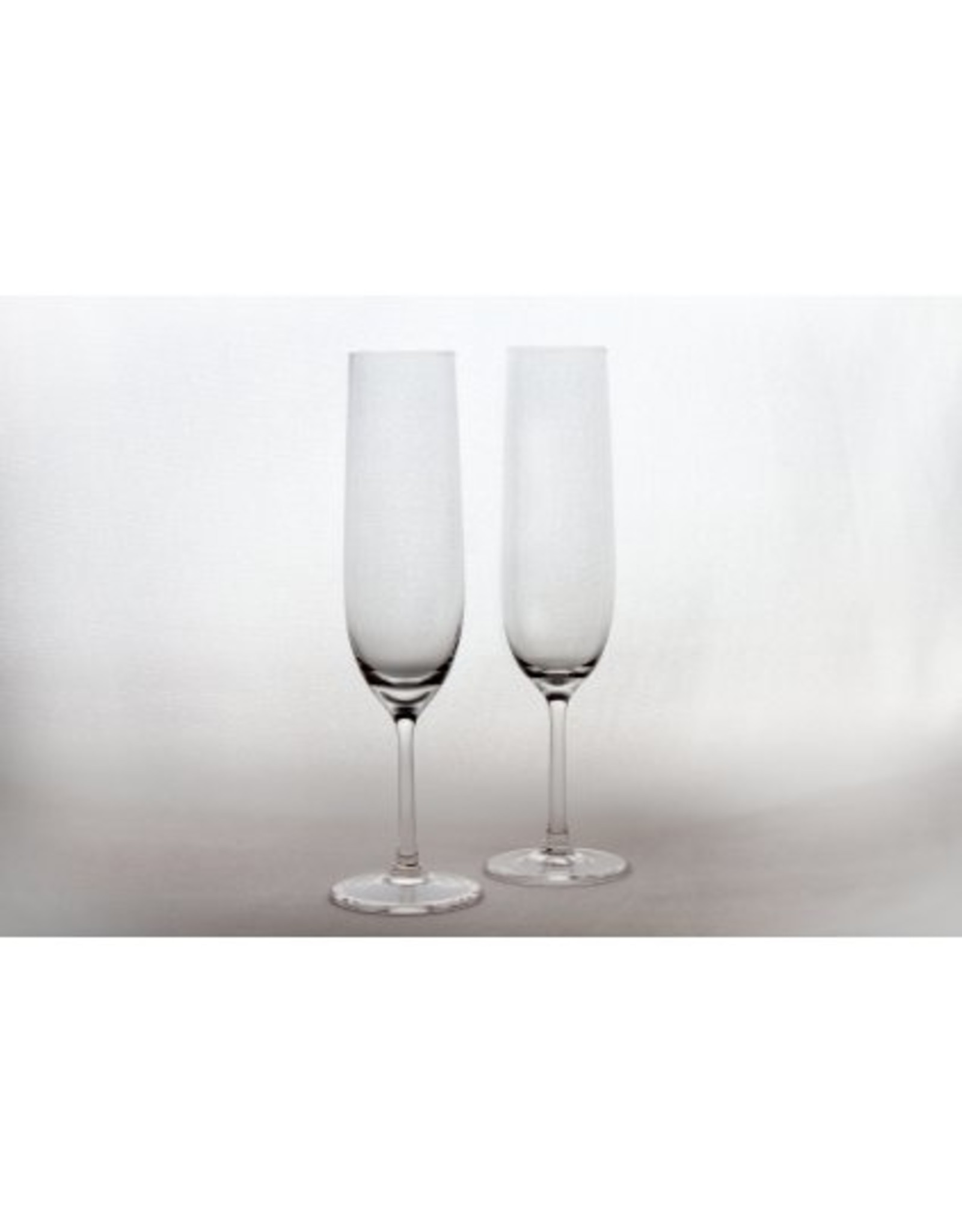 Skloglass Slim elegance champagneglas  / 2st