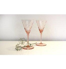 Skloglass Champagneglas Rose / 2st