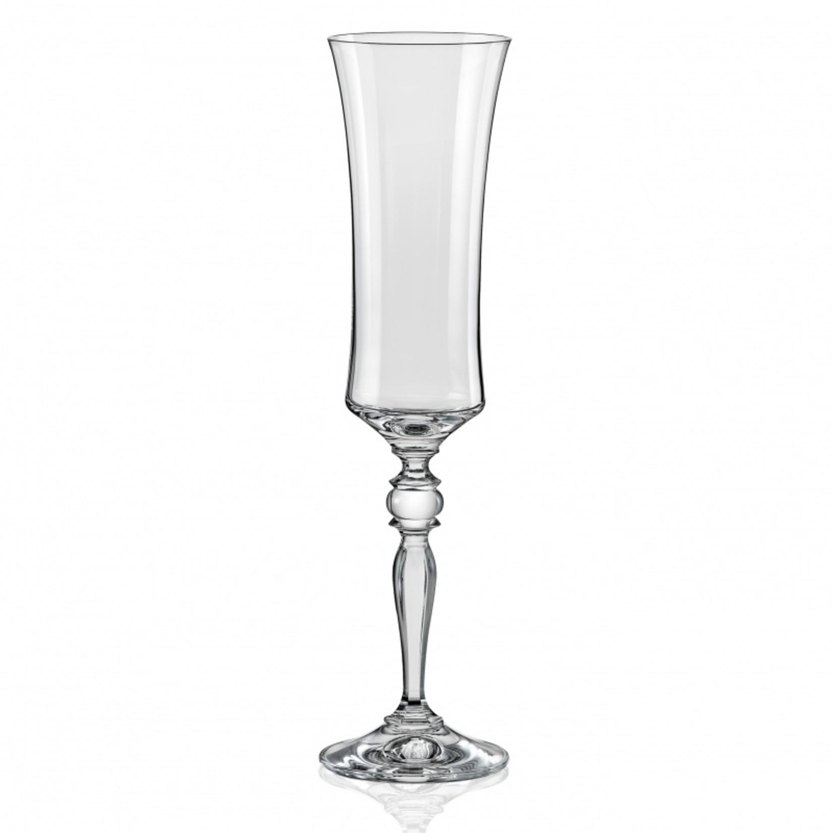Crystalex Kristallen champagneglas Grace 190 ml /6st