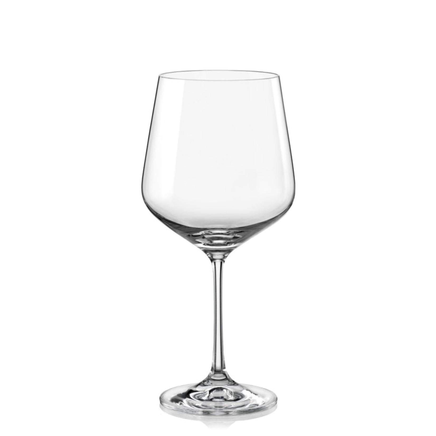 Crystalex Kristallen wijnglas Sandra 570ml /6st
