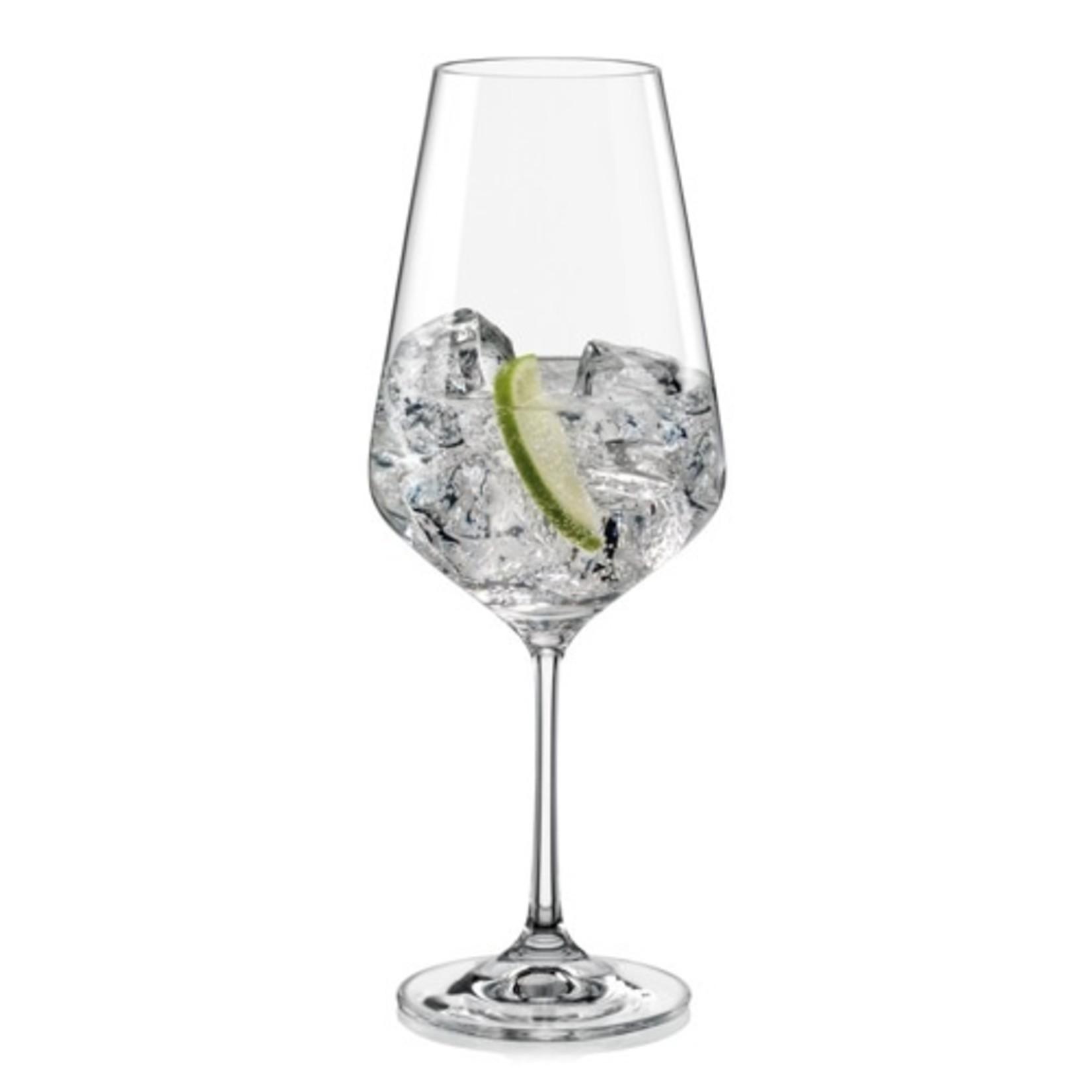 Crystalex Kristallen wijnglas Sandra 550ml /6st