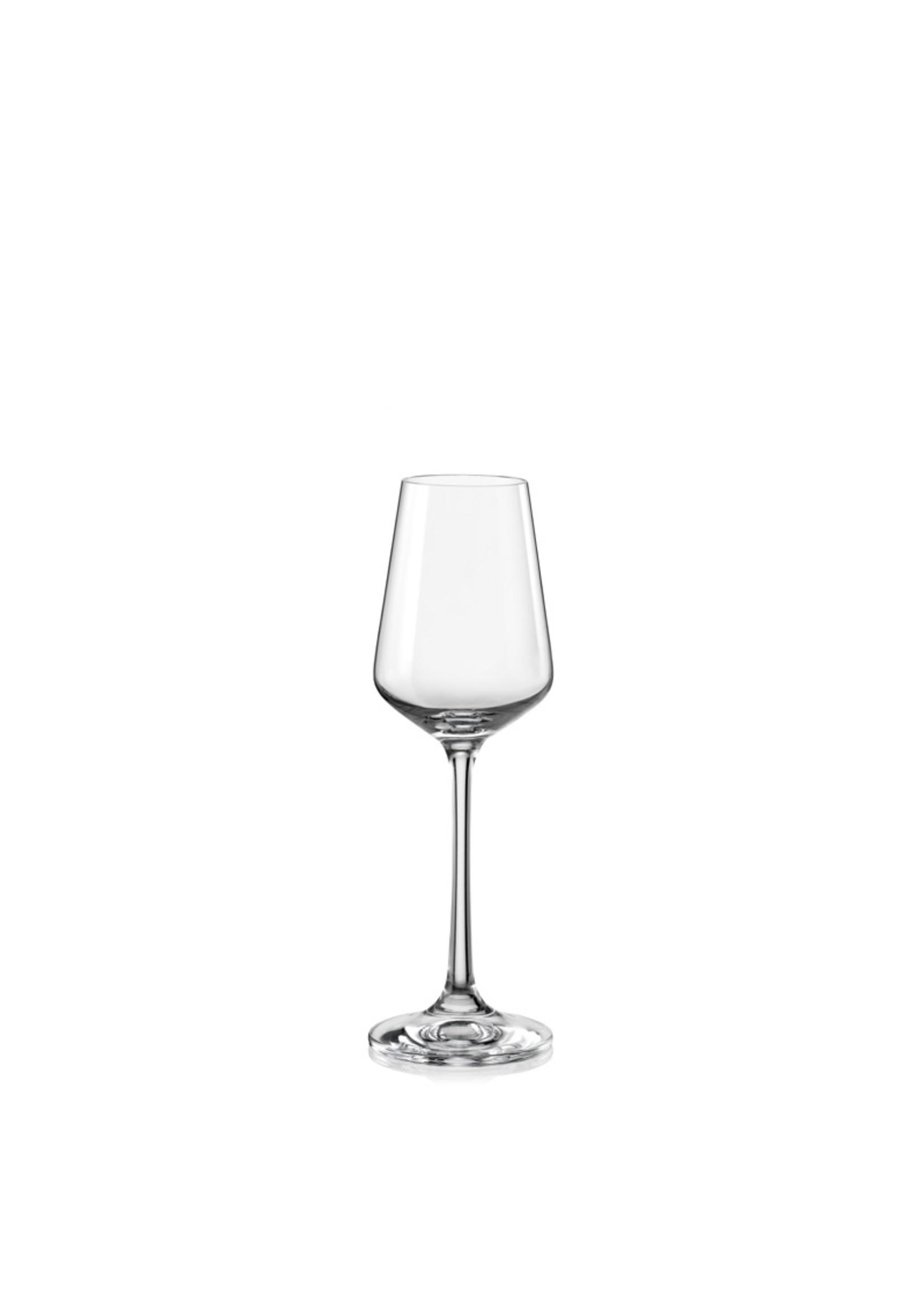 Crystalex Kristallen likeurglas Sandra 65 ml /6st