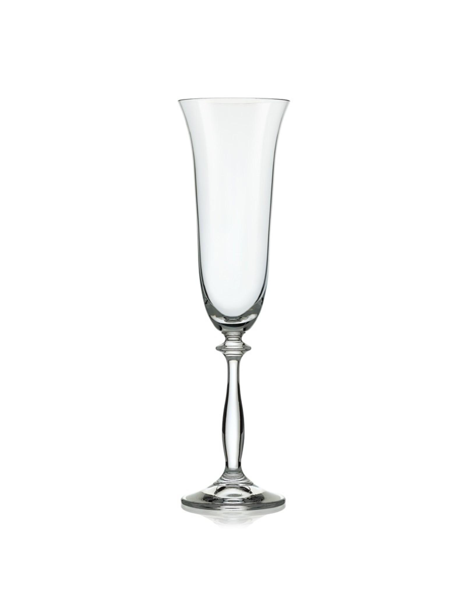 Crystalex Kristallen champagneglas Angela 190 ml /6st