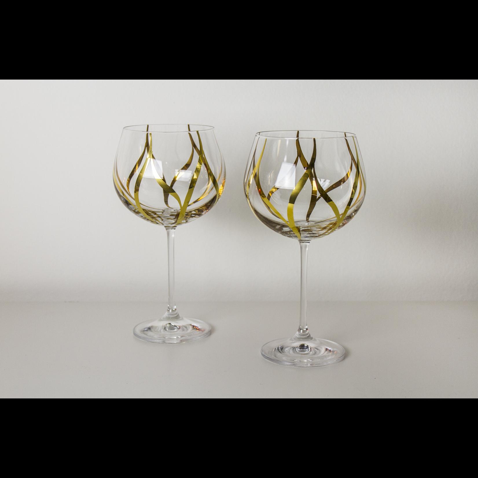 Skloglass Leaf wijnglas 450 ml /6st