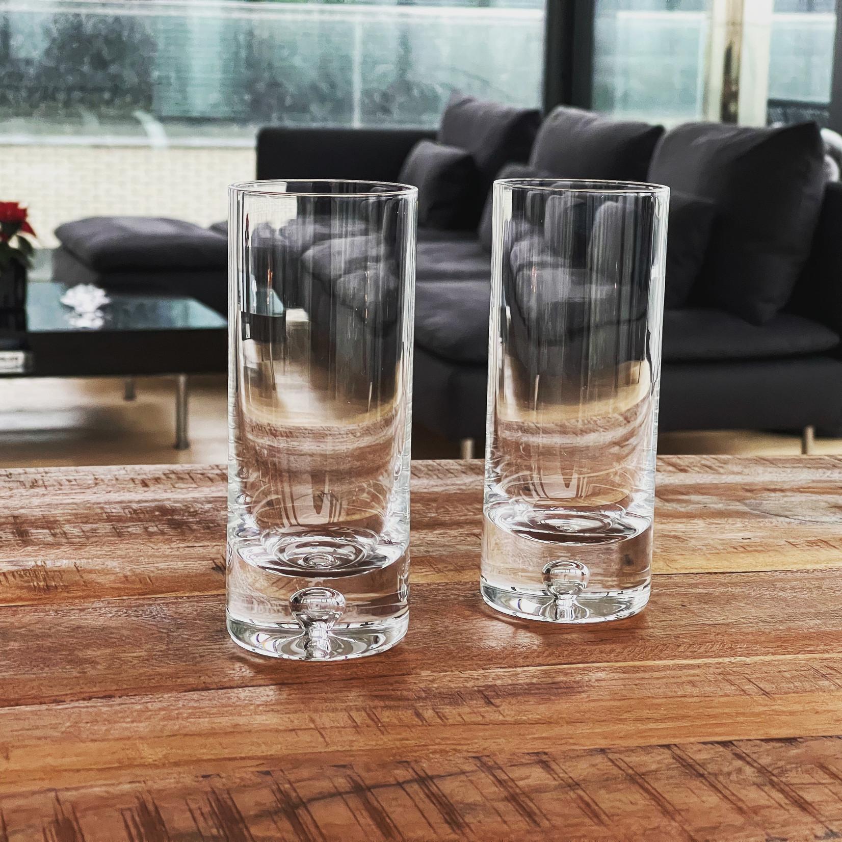 Skloglass Handgemaakt kristallen long glas Bubble