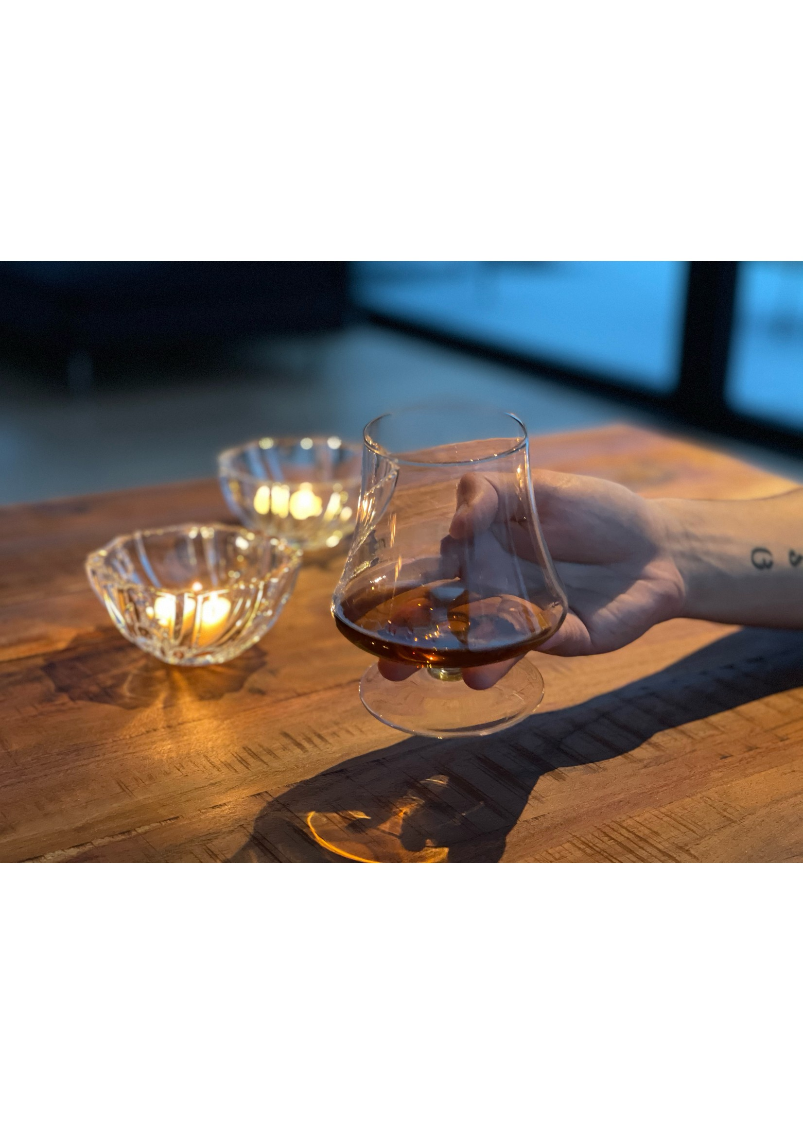Skloglass Cognacglazen handgemaakt IRIS
