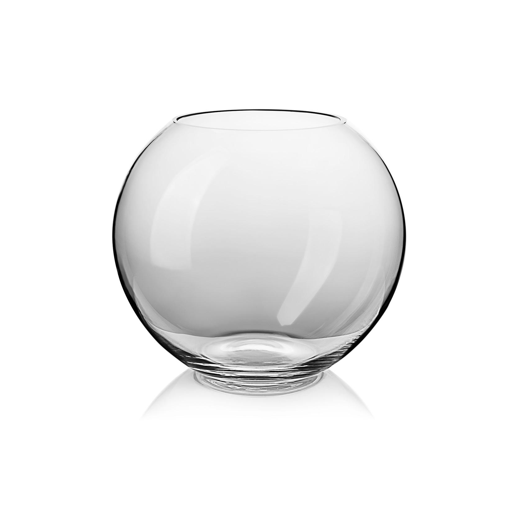 Skloglass Handgemaakt kristallen bolvaas Groot