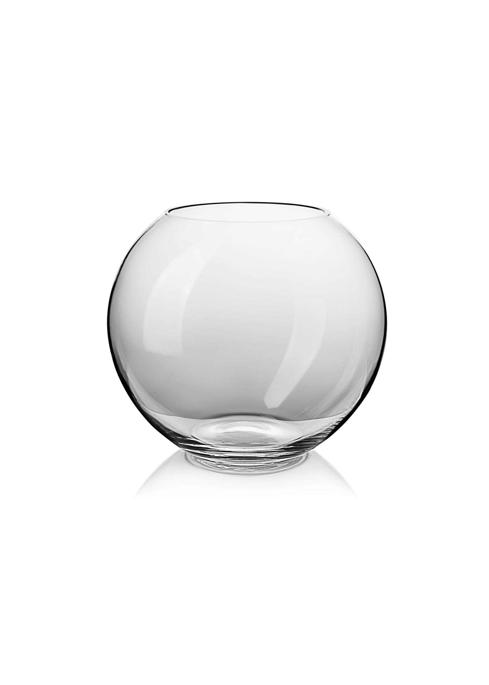 Skloglass Handgemaakt kristallen bolvaas 180mm