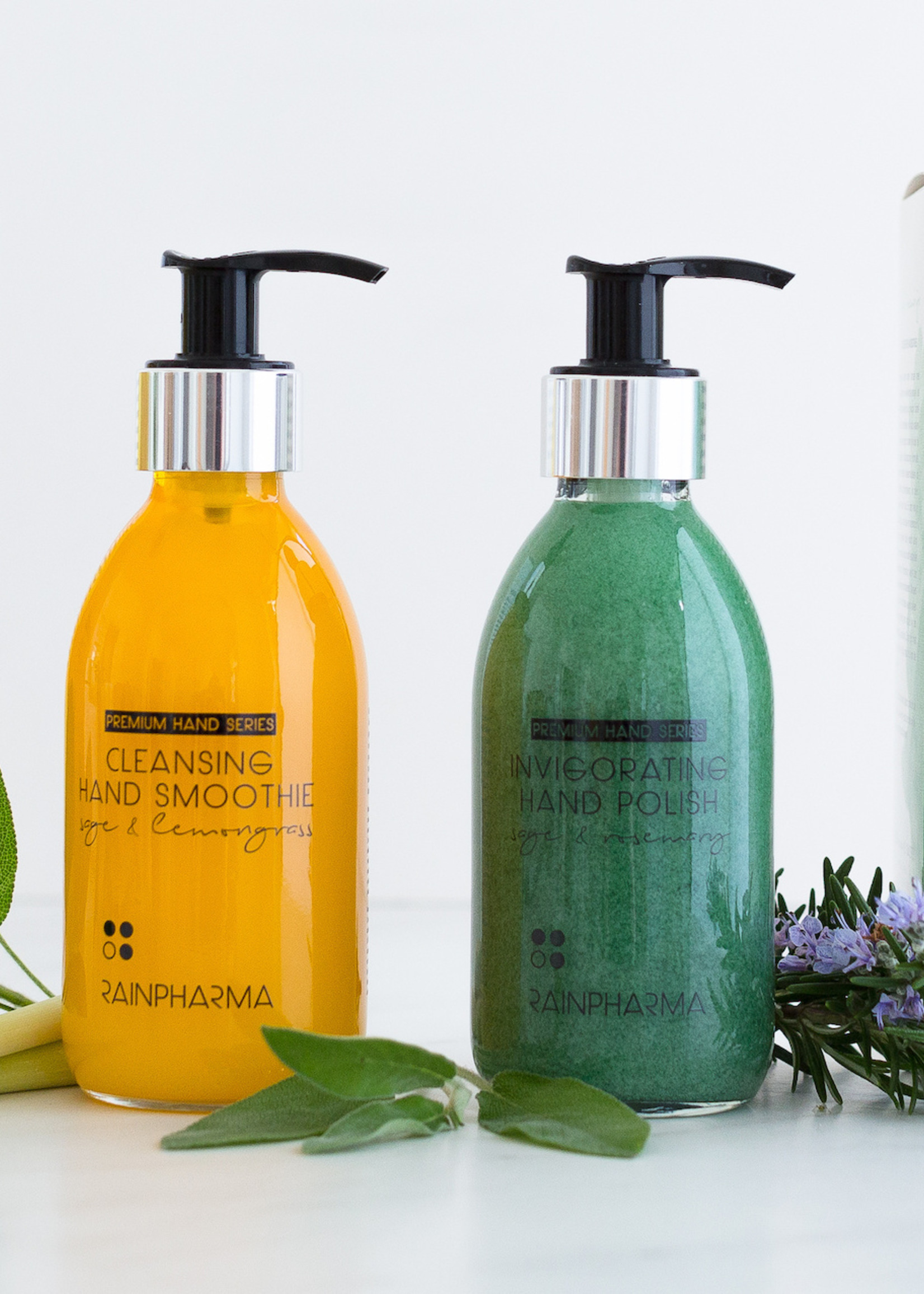 Rainpharma CLEANSING HAND SMOOTHIE SAGE & LEMONGRASS 200ML