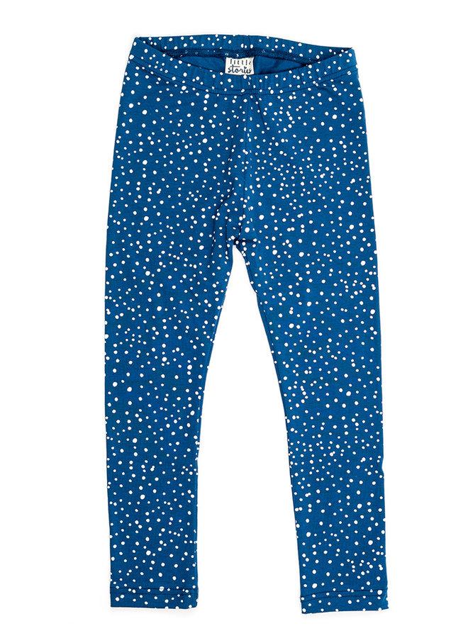 Legging - Dots Dusty Blue