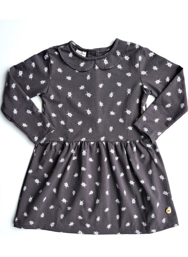 Dress Collar long sleeve - Beetle Dark Grey