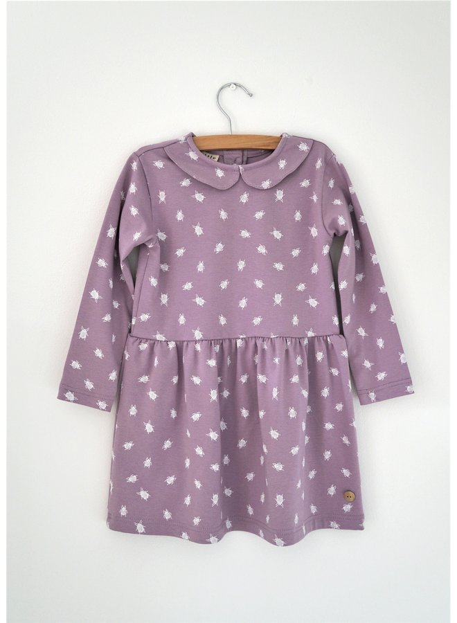 Dress Collar long sleeve - Beetle Old Rose