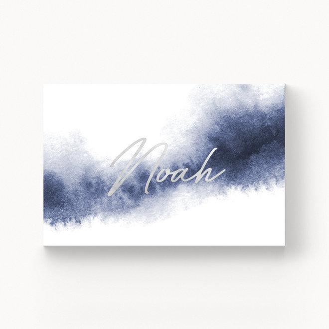 Geboortekaartje Noah - met folie