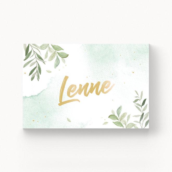 Geboortekaartje Lenne