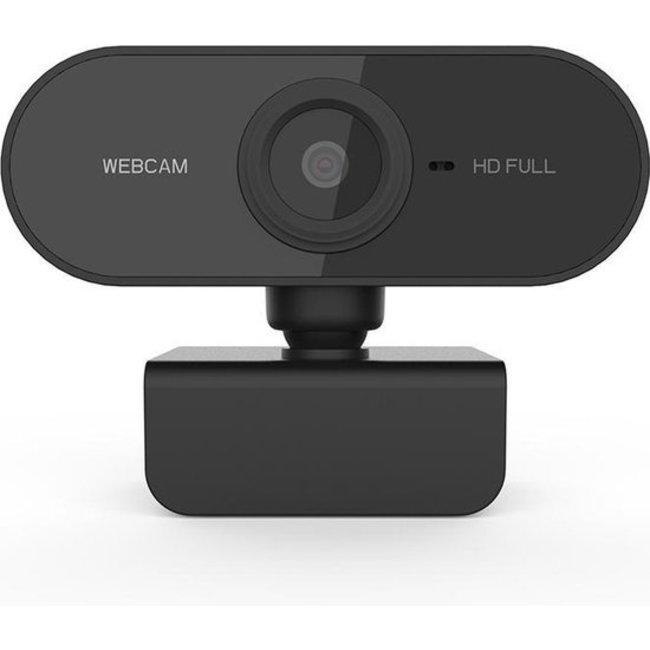 Mossmedia Mossmedia Webcam voor PC - Met Microfoon en USB - HD / 1080p - Zwart