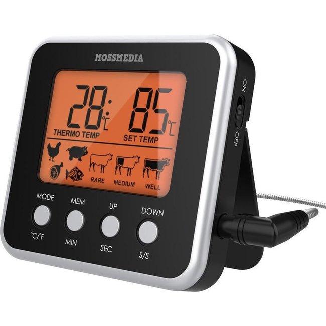 Mossmedia Pro Keuken Thermometer - BBQ Thermometer - Vlees Thermometer - Braad Thermometer - Thermometer Koken