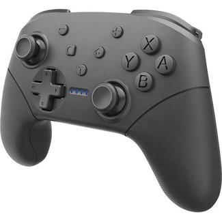 Mossmedia Pro Controller Draadloos - voor Nintendo Switch - Zwart