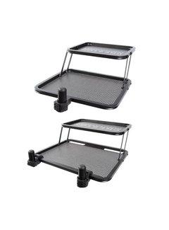 Preston double decker side-tray large