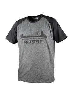 Freestyle Freestyle T-shirt Gray & Black
