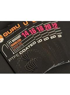 Guru F1 Maggot Barbless Spade End (10 pcs)