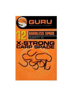 Guru X-Strong Carp Barbless Spade (10 pcs)