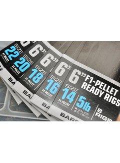 """Guru 6"""" F1 Pellet Ready Rig (8 rigs)"""