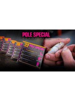 "Guru 8"" Pole Special Ready Rigs (8 pcs)"