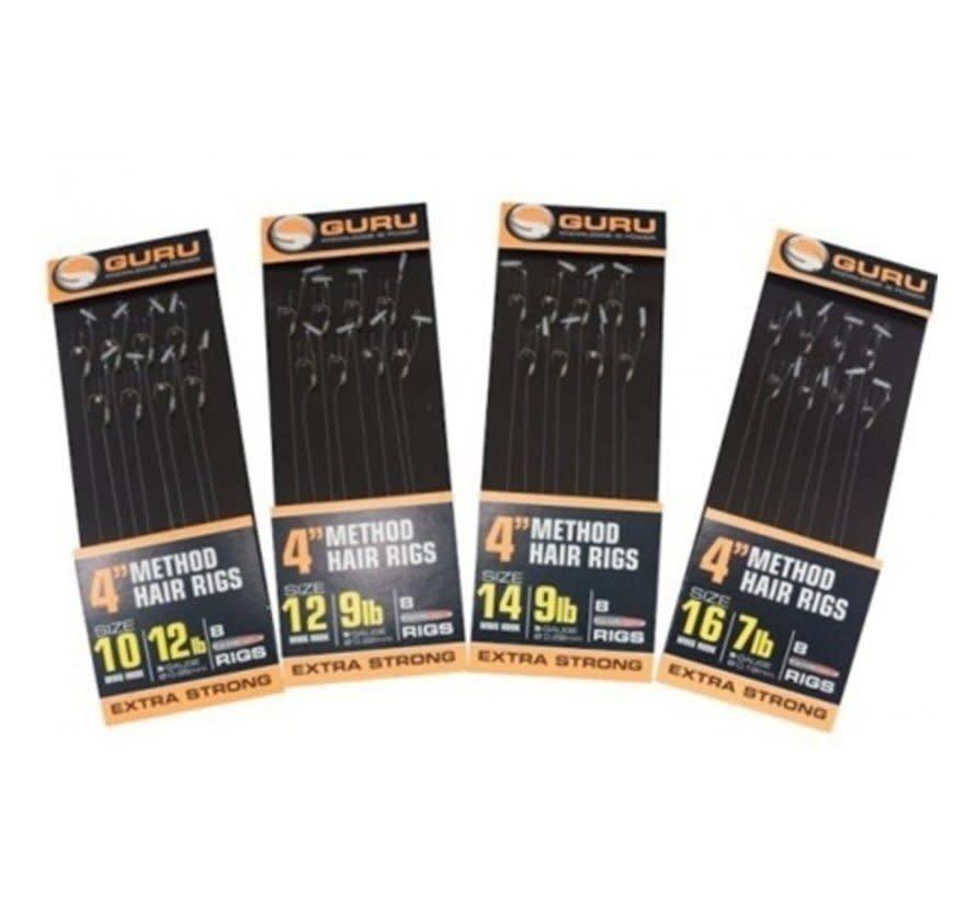 "4"" Method Hair Rigs (8 rigs)"