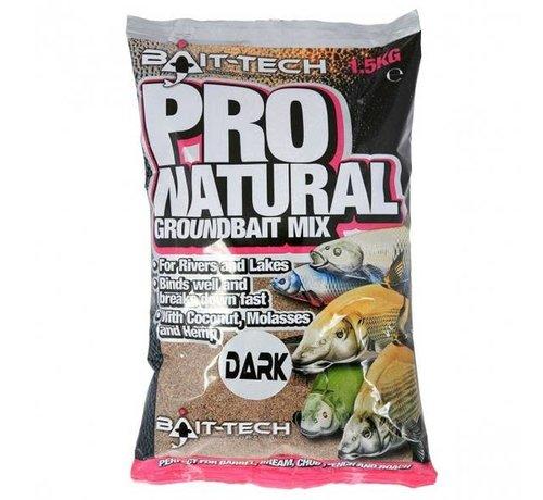 Bait-Tech PRO-NATURAL DARK GROUNDBAIT 1,5kg