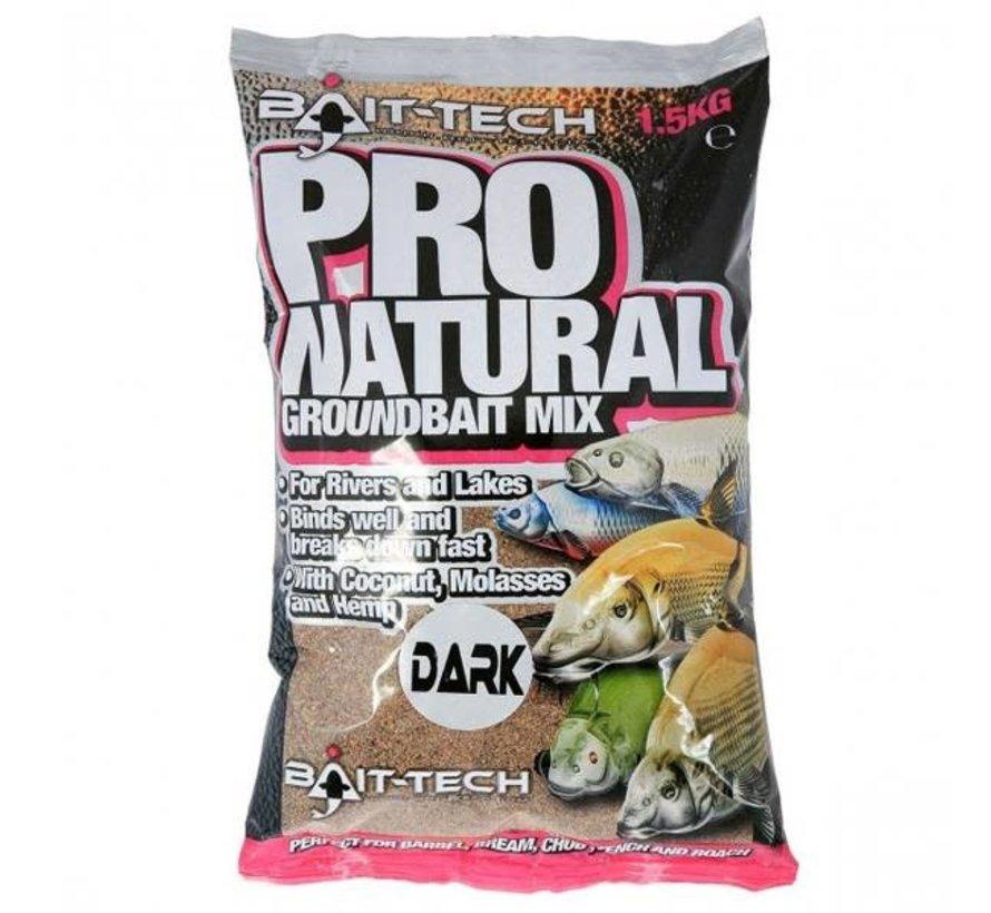 PRO-NATURAL DARK GROUNDBAIT 1,5kg