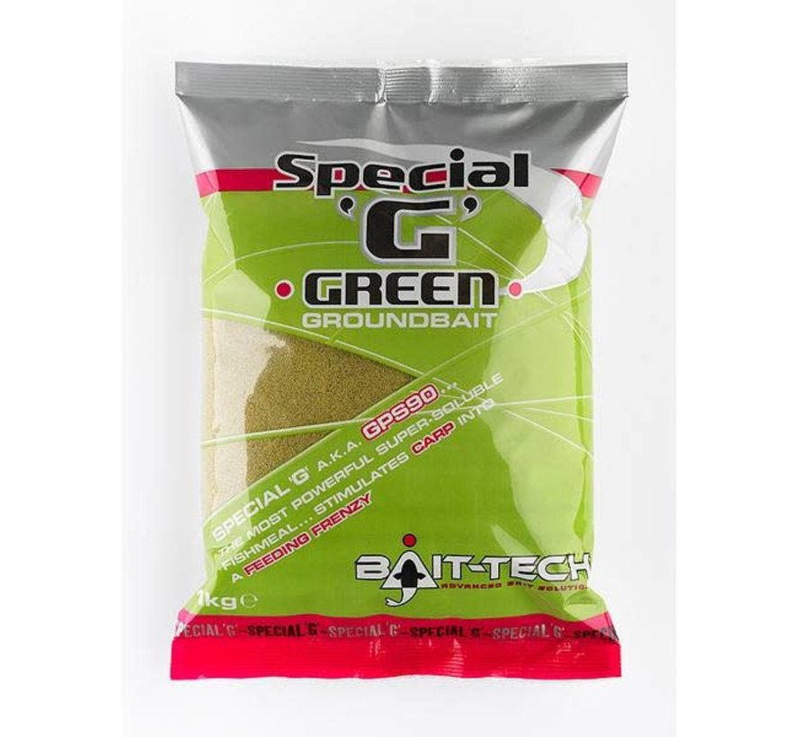 2500002 SPECIAL 'G' GREEN GROUNDBAIT 1kg