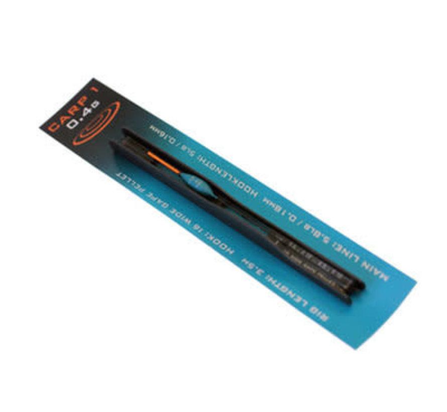 Carp 1  (3,5m) dobber 0,2g - haak 16 - 0,18mm