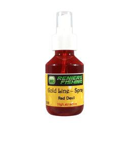 Reniers Fishing Gold Line Spray (120ml) Red Devil