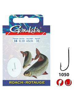 Gamakatsu Onderlijnen Roach 1050N - 45cm (10 pcs)