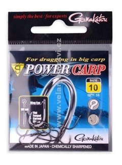 Gamakatsu G Power Carp Ringed Eye Barbed (10 pcs)