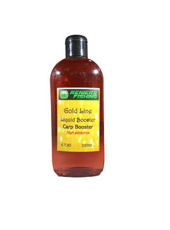 Reniers Fishing Gold Line Liquid Booster (250ml)  Carp Booster