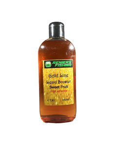 Reniers Fishing Gold Line Liquid Booster (250ml)  Sweet Fruit