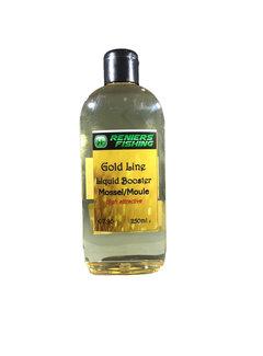 Reniers Fishing Gold Line Liquid Booster (250ml)  Mossel