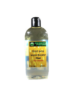 Reniers Fishing Gold Line Liquid Booster (250ml)  Meat
