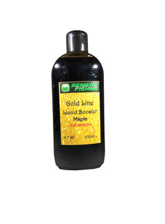 Reniers Fishing Gold Line Liquid Booster (250ml)  Maple