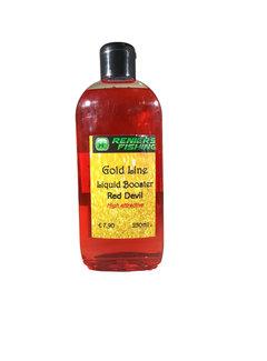 Reniers Fishing Gold Line Liquid Booster (250ml)  Red Devil