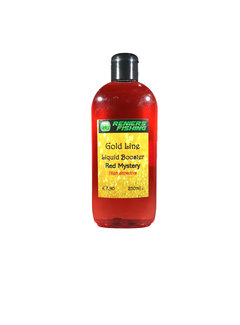 Reniers Fishing Gold Line Liquid Booster (250ml)  Red Mistery