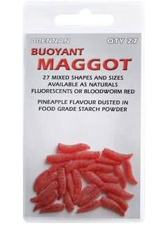 Drennan Buoyant Maden Bloodworm Rood