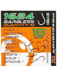 Frenzee Precision FXT 1624 Eyed Barbless (10 pcs)