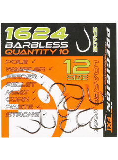 Frenzee Precision FXT 1624 Spade Barbless (10 pcs)