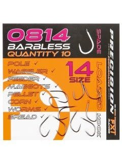 Frenzee Precision FXT 0814 Spade Barbless (10 pcs)