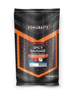 Sonubaits Spicy Sausage Halibut Pellets (900 gr) 6mm