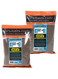 Sonubaits F1 Stiki Method Pellets 650g
