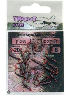 Albatros Haken Trout Style Spiral Ringed (20 pcs)