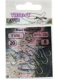 Albatros Trout Style Ringed Haken (20 pcs)